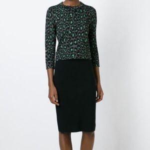 Marc By Marc Jacobs Leopard Print Sweater Sz XS